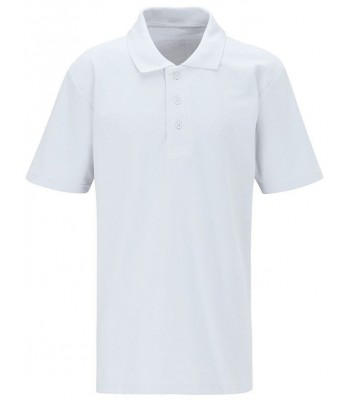 Dunswell Polo T Shirt with school logo