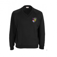 Malet Lambert Black Sweatshirt (with your school logo) [NEW]