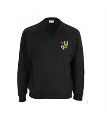 Malet Lambert Black Sweatshirt (with your school logo) [NEW]