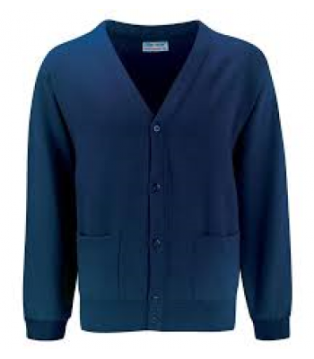 Preston Cardigan with your school logo