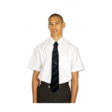 Short Sleeve Poly cotton Shirt - twin pack