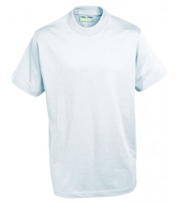Brandesburton White PE T Shirt (with your EMB school logo)